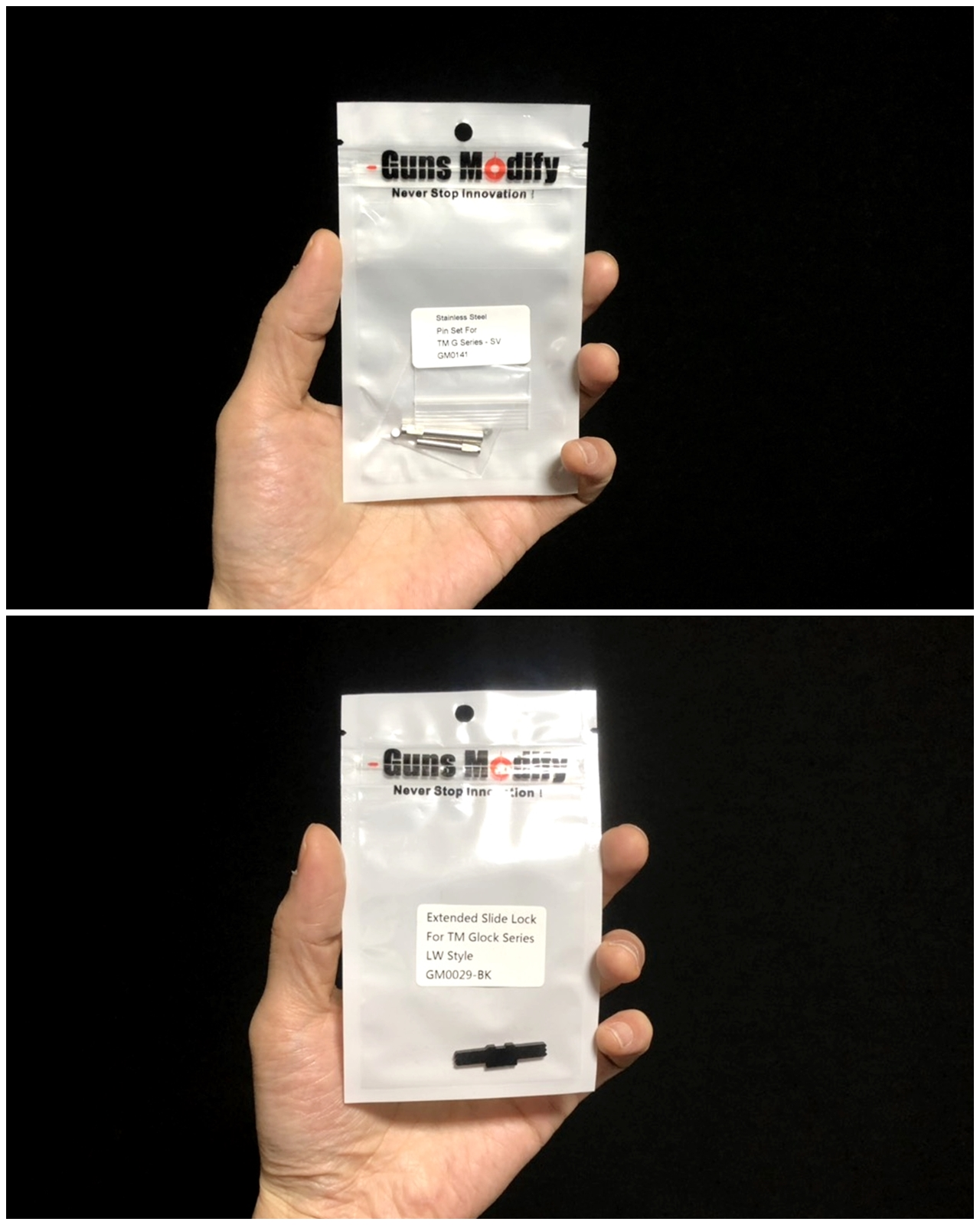 1 GLOCK G18C カスタムしたるぞー!!続編!! Guns Modify ステンレス フレーム ロックピン & エクステンドスライドロック!! 購入 取付 交換 カスタム レビュー!!