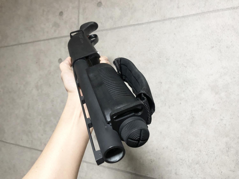 13 マルゼン CA870 HILOG オリジナル ラプターグリップ 3D 強化版 & スリングアダプター!! CA870 カスタム続編!! 改造計画 第三弾の巻!!