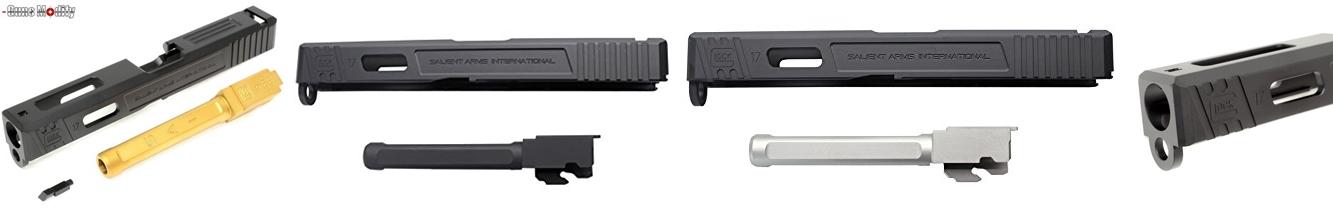 PR2 東京マルイ GLOCK 17 SAI スライド & SAI トリガー カスタム!! サバケー仲間にパーツを奪われましたシリーズ!! グロック 購入 分解 取付 交換 レビュー!! GLOK17 Guns Modify SAI アルミスライド