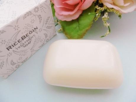 3ヵ月待ち 潤い効果石鹸が、再入荷で1980円!『ライスビギン トリートメントソープ』9月中旬頃に入荷確定です!