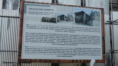 Baclayon Church,Baclayon,Bohol