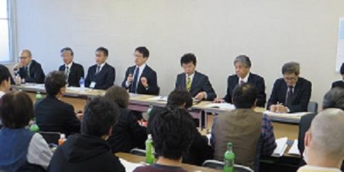 2018_1110 2018年秋闘第1回団体交渉(やまなし県本部) (4)s