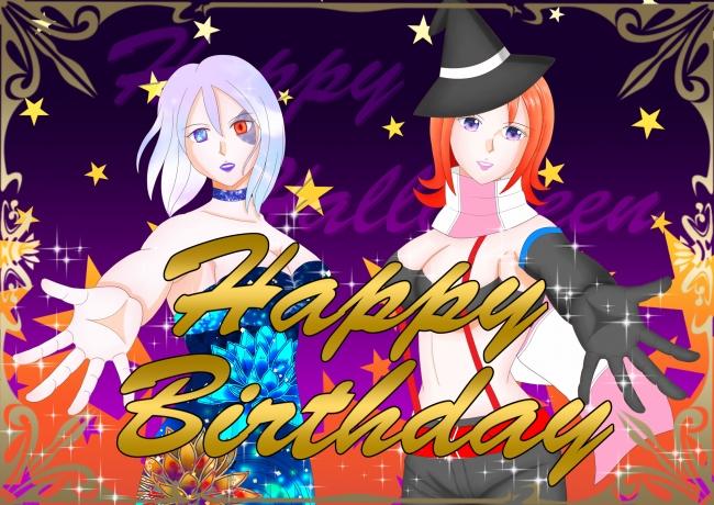 誕生日お祝い(ハロウィン)