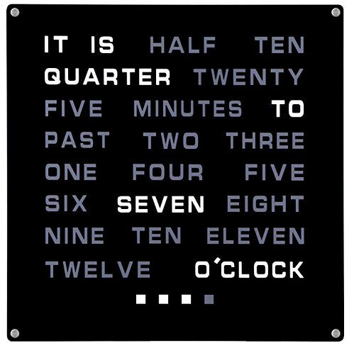 Clock 1227