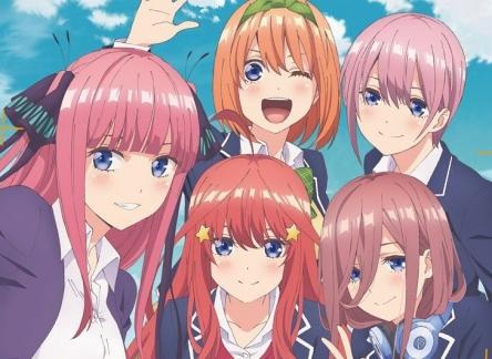 1月アニメ『五等分の花嫁』番宣CM、OP曲動画が公開!!  キャストは結構いいんじゃね?