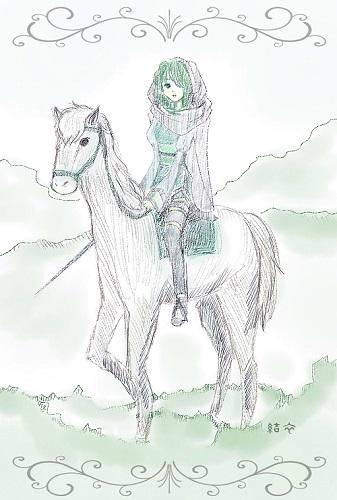 「乗馬するカノン」