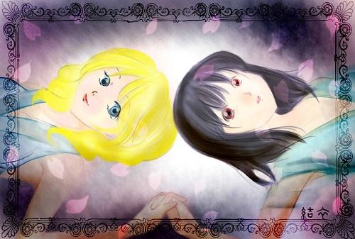 「リルとレイリア」